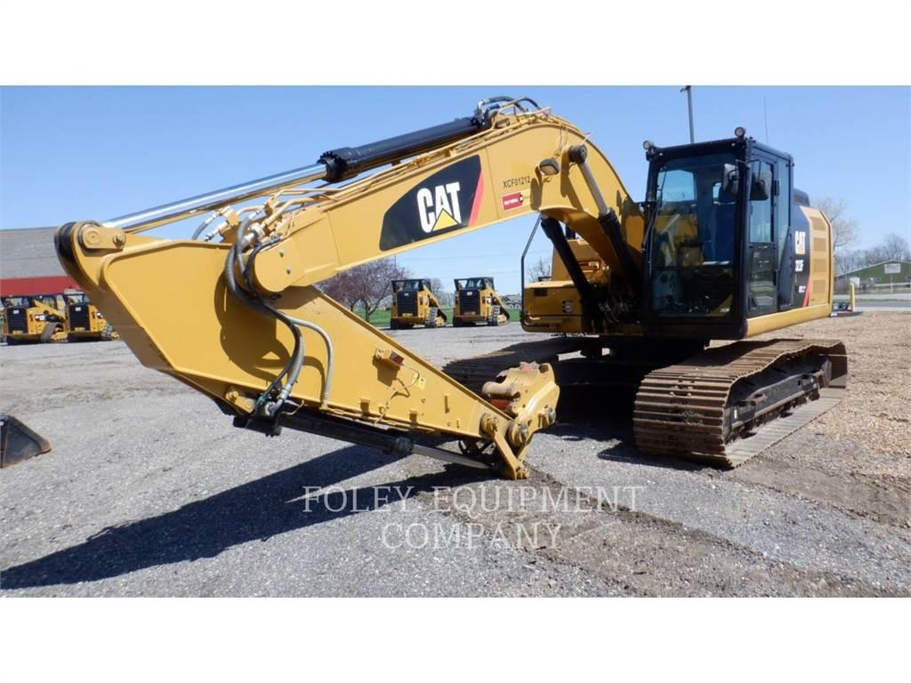 Caterpillar 323FL9, Excavatoare pe senile, Constructii