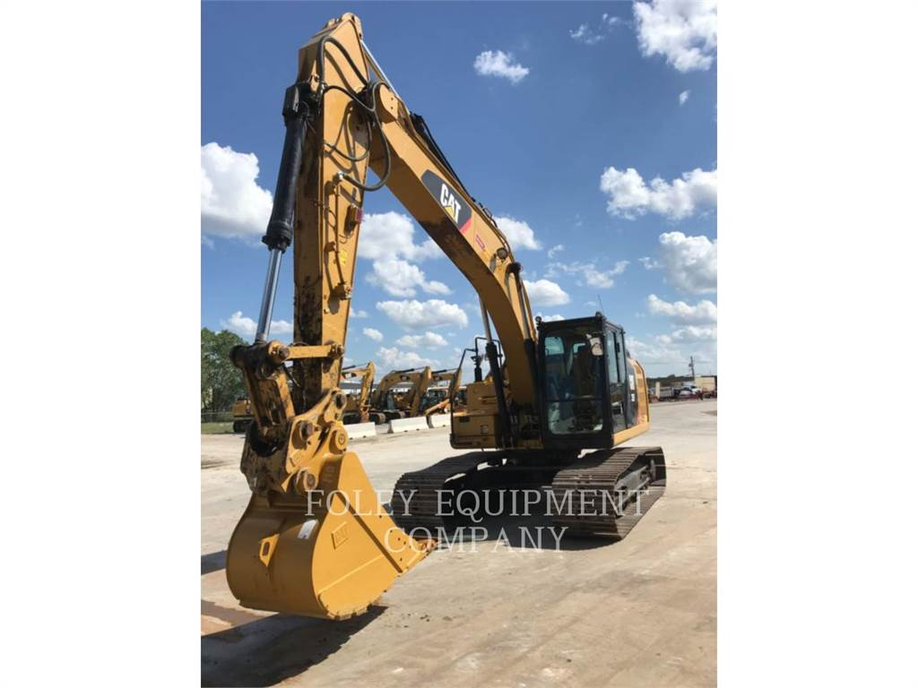 Caterpillar 323FL9X, Crawler Excavators, Construction