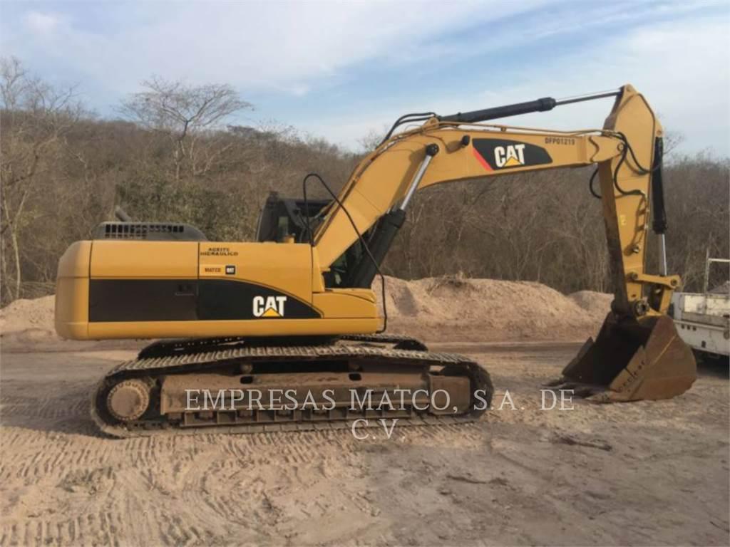Caterpillar 324 D L, Crawler Excavators, Construction