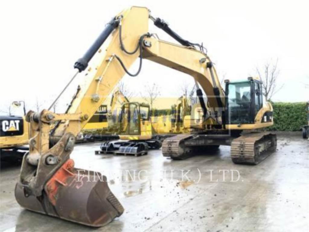 Caterpillar 324D, Crawler Excavators, Construction