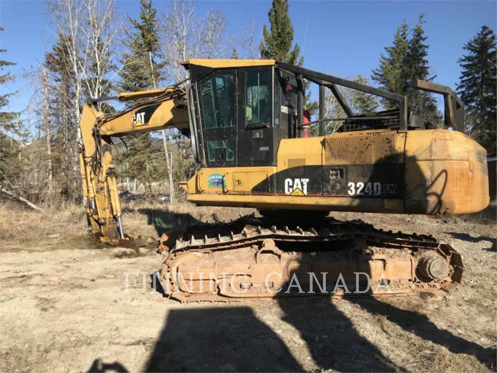Caterpillar 324DFMGF, Crawler Excavators, Construction