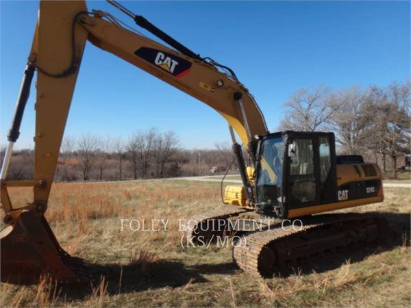 Caterpillar 324DL、クローラー式油圧ショベル(パワーショベル・ユンボ)、建設