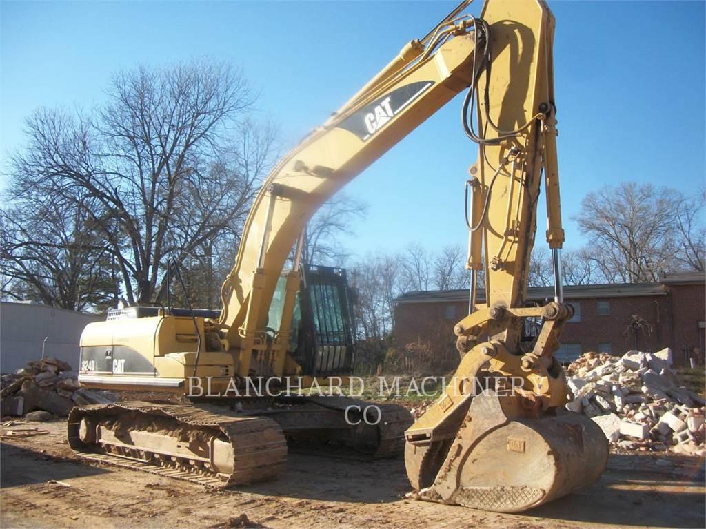 Caterpillar 324DL, Pelle sur chenilles, Équipement De Construction