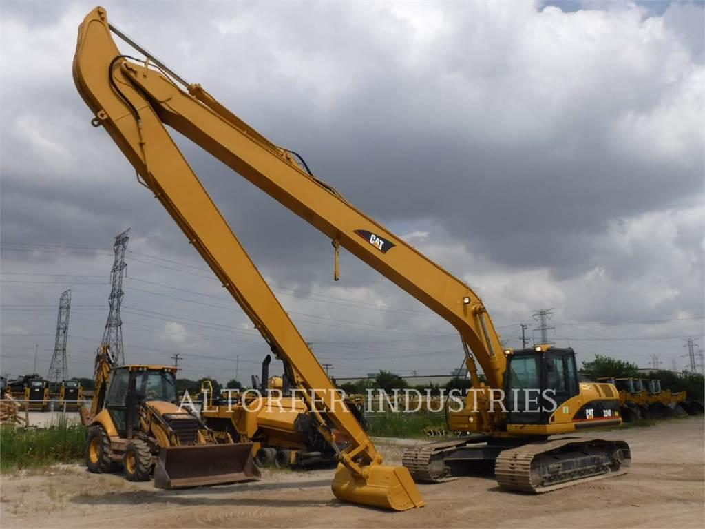 Caterpillar 324DL, Crawler Excavators, Construction