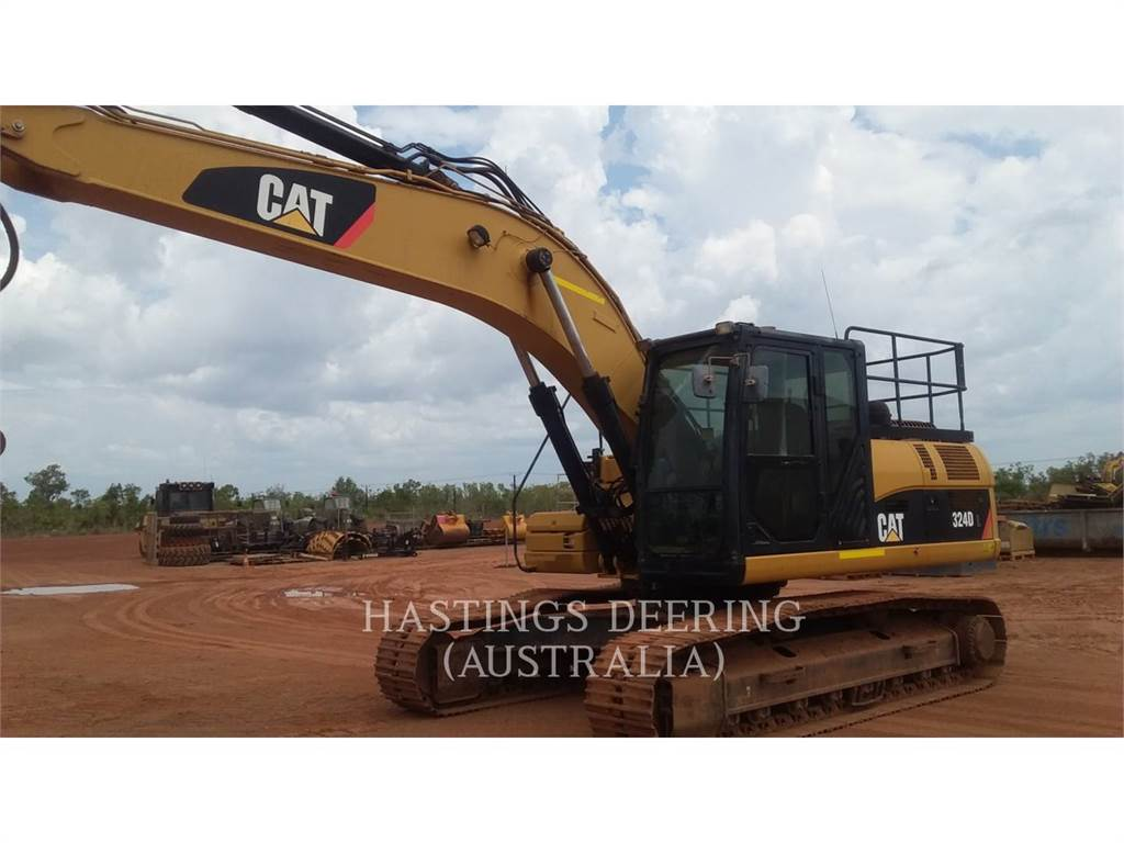 Caterpillar 324DL, Crawler Excavators, Construction