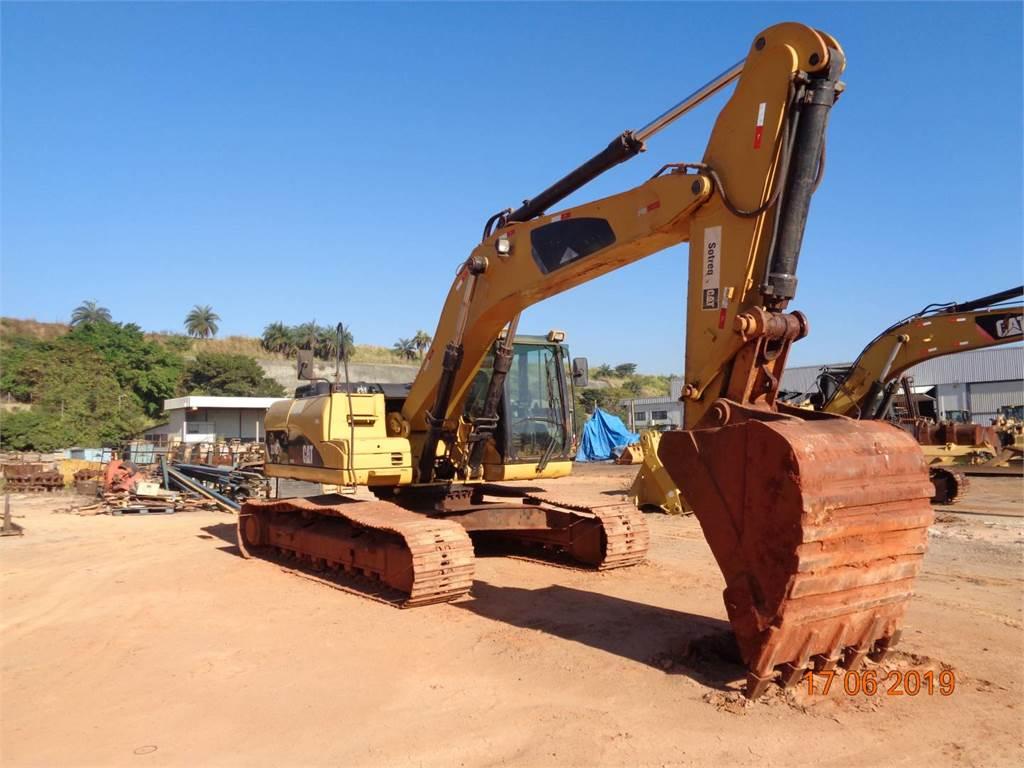 Caterpillar 324DL, Excavadoras de cadenas, Construcción