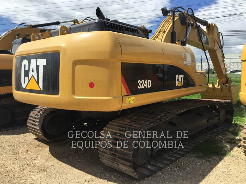 Caterpillar 324DL ME, Rupsgraafmachines, Bouw
