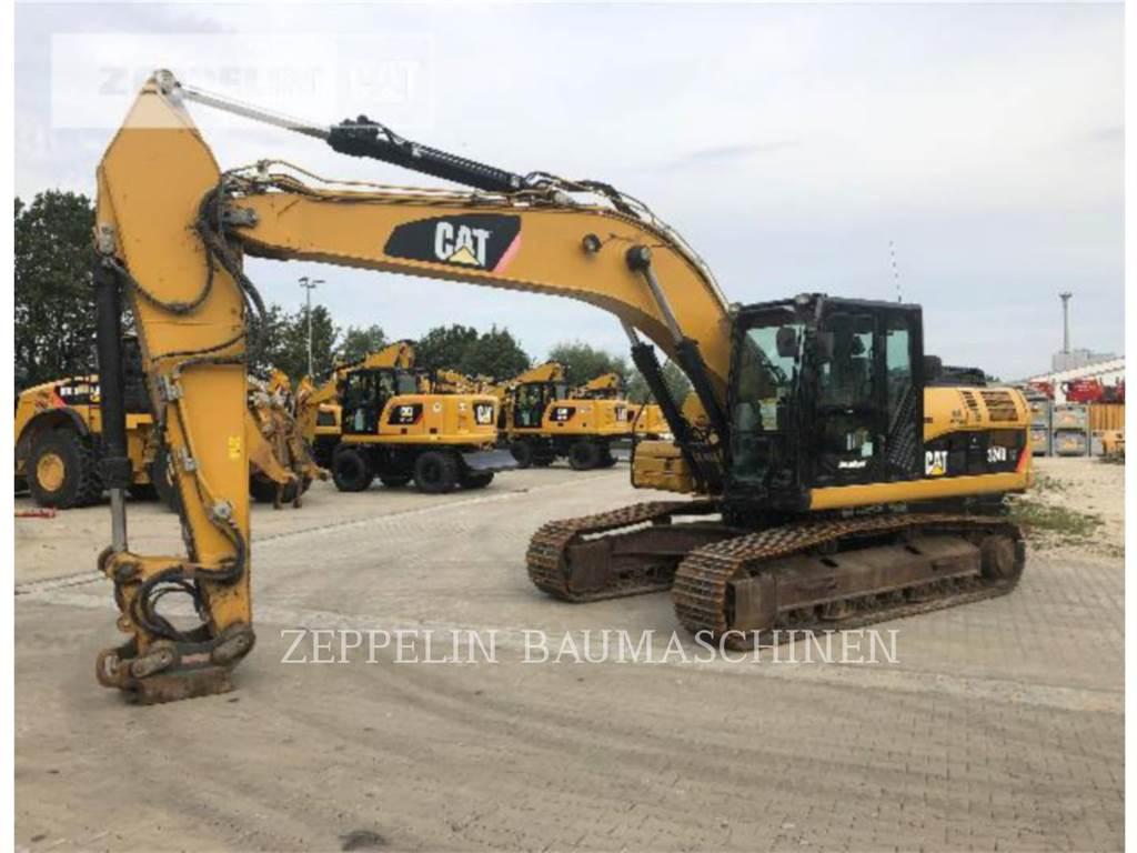 Caterpillar 324DLN, Escavadoras de rastos, Equipamentos Construção