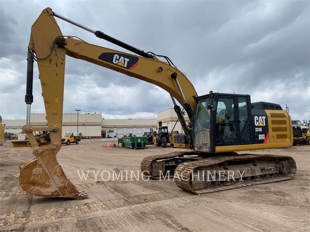Caterpillar 324EL, Escavatori cingolati, Attrezzature Da Costruzione