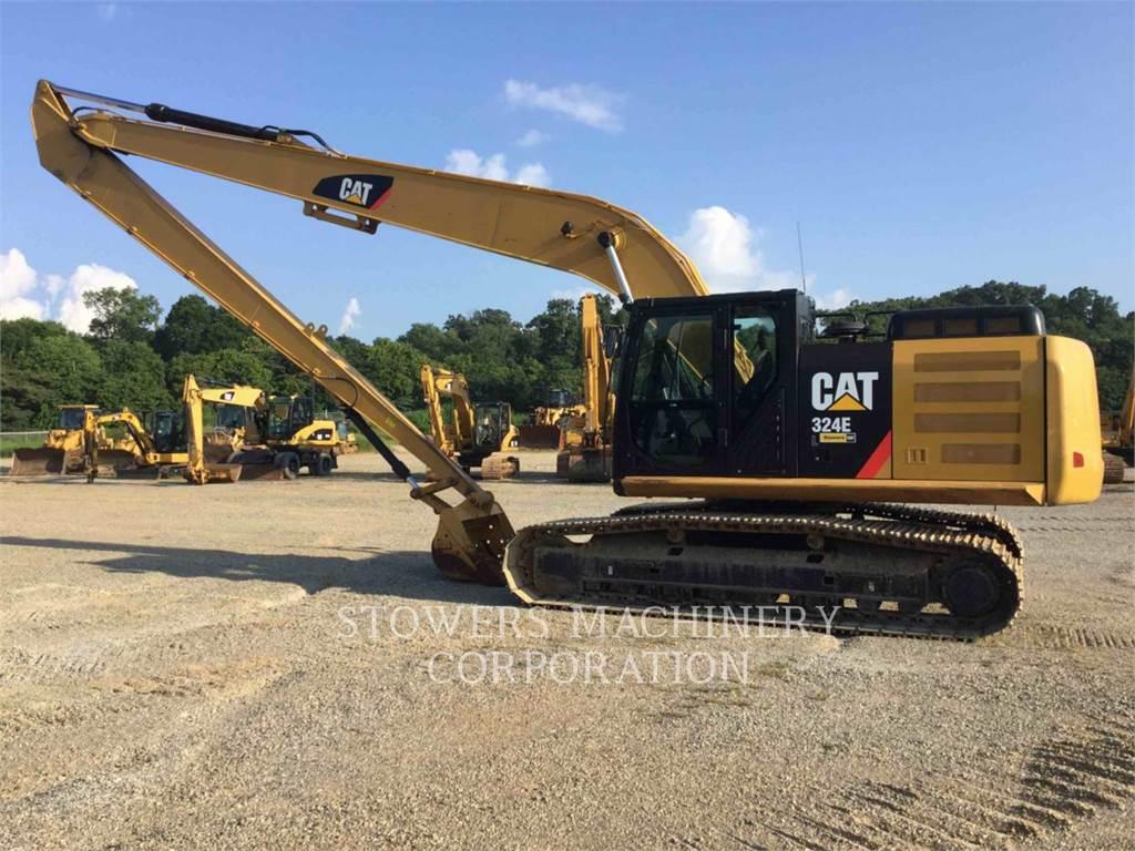Caterpillar 324EL, Pelle sur chenilles, Équipement De Construction