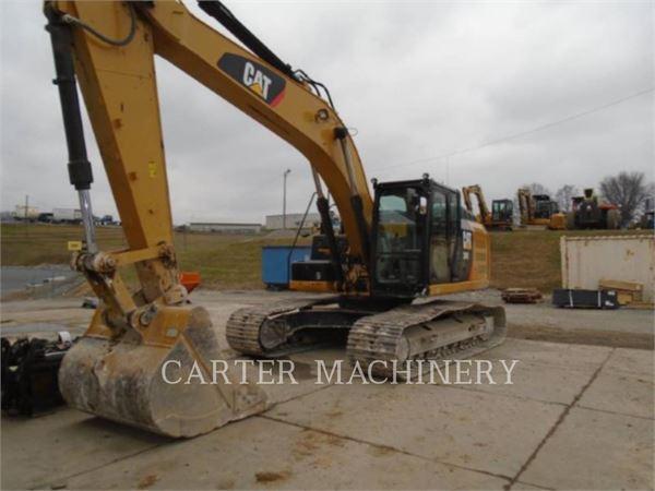 Caterpillar 324EL, Crawler Excavators, Construction