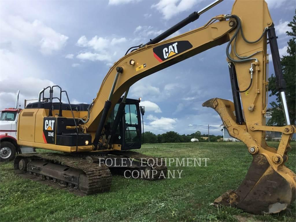 Caterpillar 324EL、履带挖掘机、建筑设备