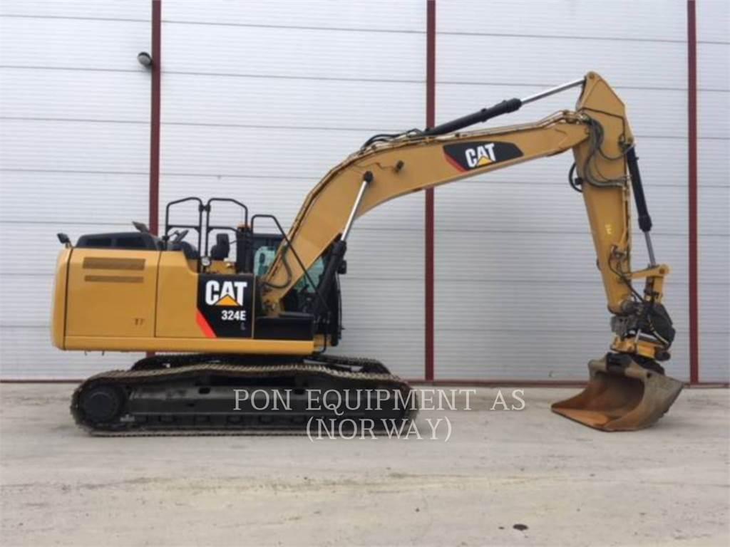 Caterpillar 324EL, Escavadoras de rastos, Equipamentos Construção