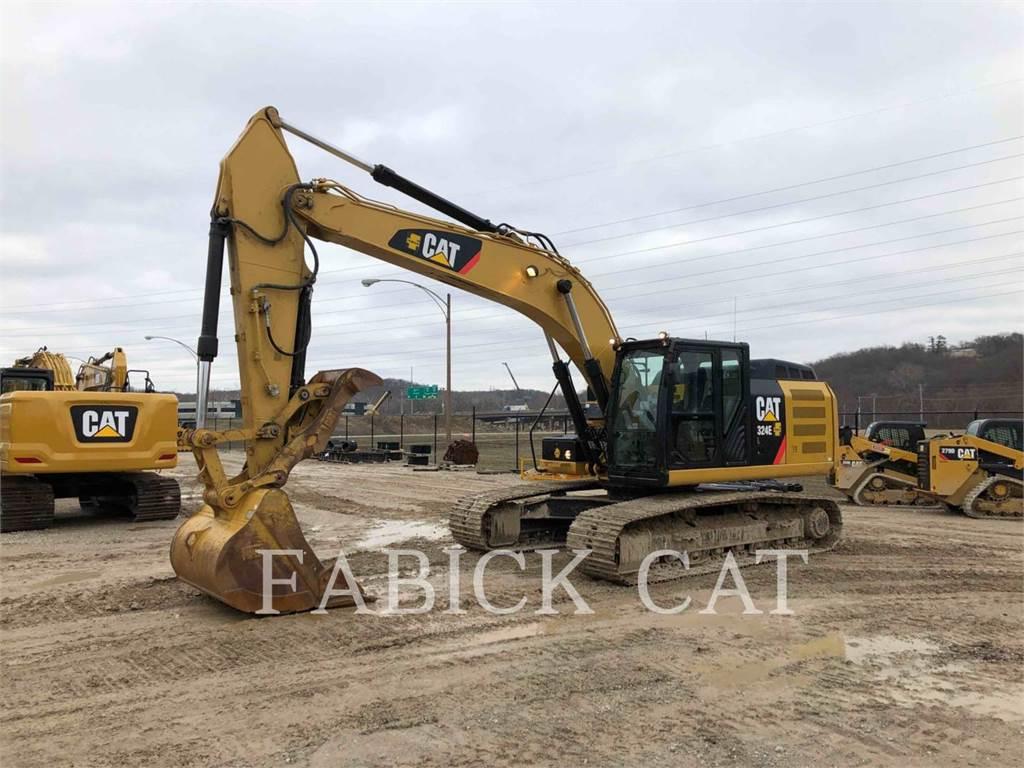 Caterpillar 324EL, Excavadoras de cadenas, Construcción