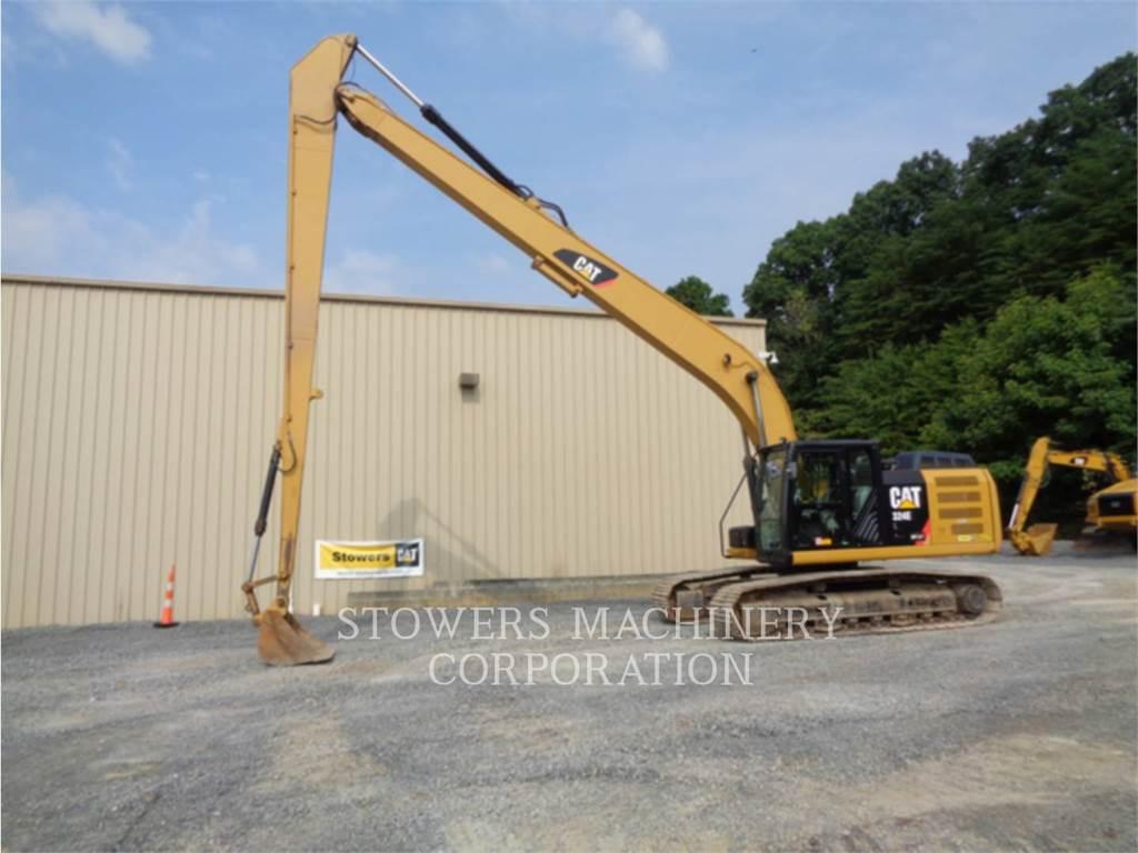 Caterpillar 324EL LR, Crawler Excavators, Construction