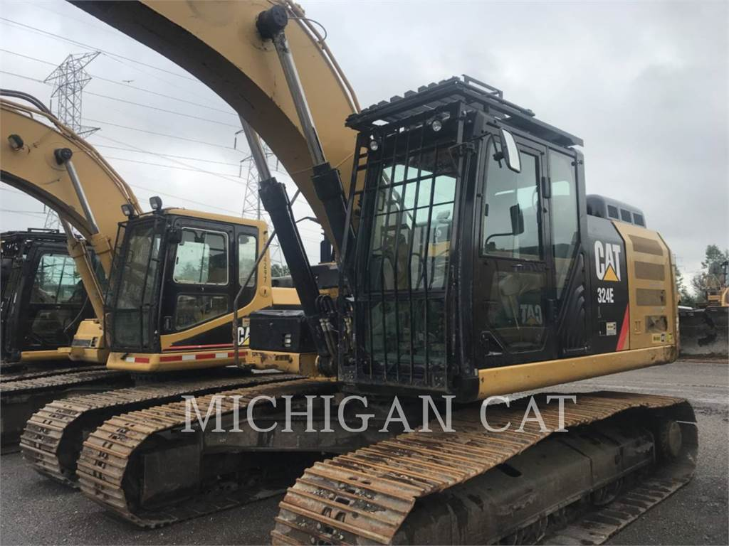 Caterpillar 324EL P, Crawler Excavators, Construction