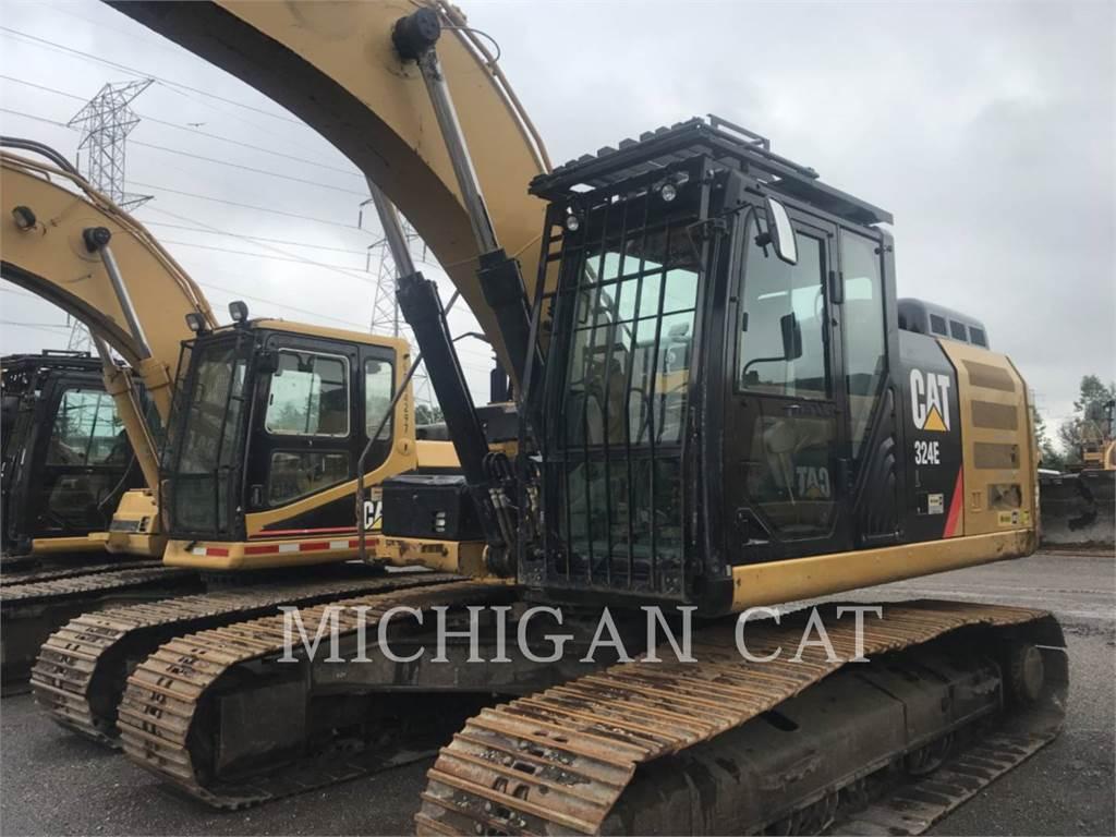 Caterpillar 324EL P, Crawler Excavators, Construction