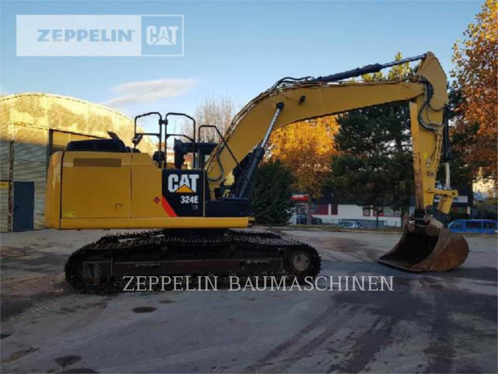 Caterpillar 324ELN, Crawler Excavators, Construction