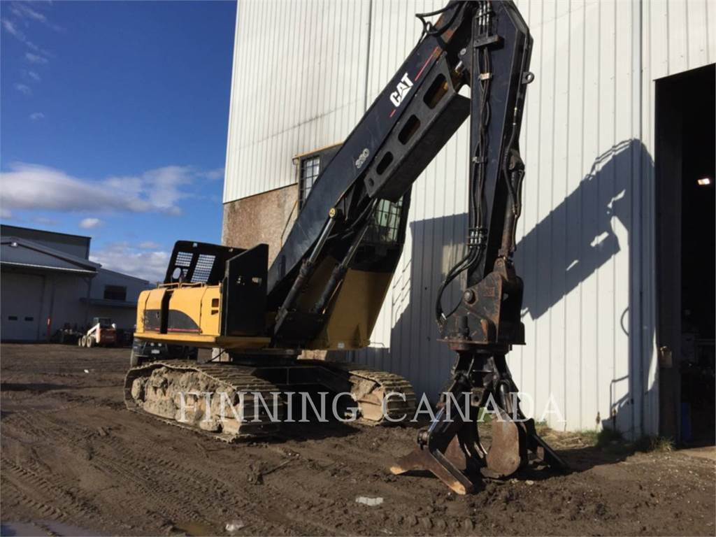 Caterpillar 325CFMHW, Feller bunchers, Bosbouw