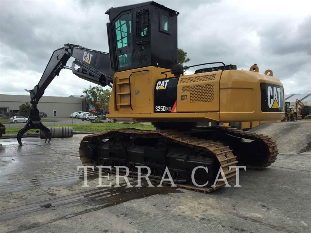 Caterpillar 325DFMLL, Feller Bunchers, Forestry Equipment