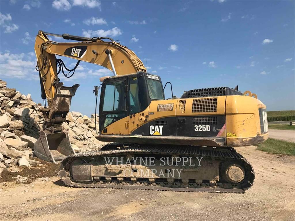 Caterpillar 325DL, Crawler Excavators, Construction