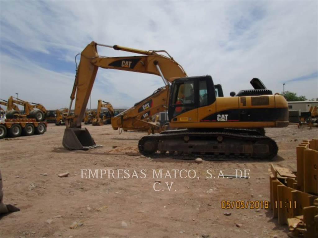 Caterpillar 325DL, Crawler Excavators, Construction