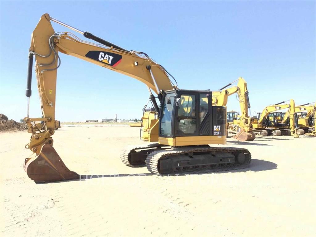 Caterpillar 325F, Crawler Excavators, Construction
