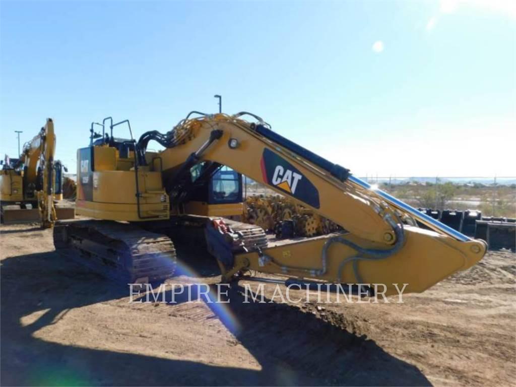 Caterpillar 325F LCR P, Crawler Excavators, Construction