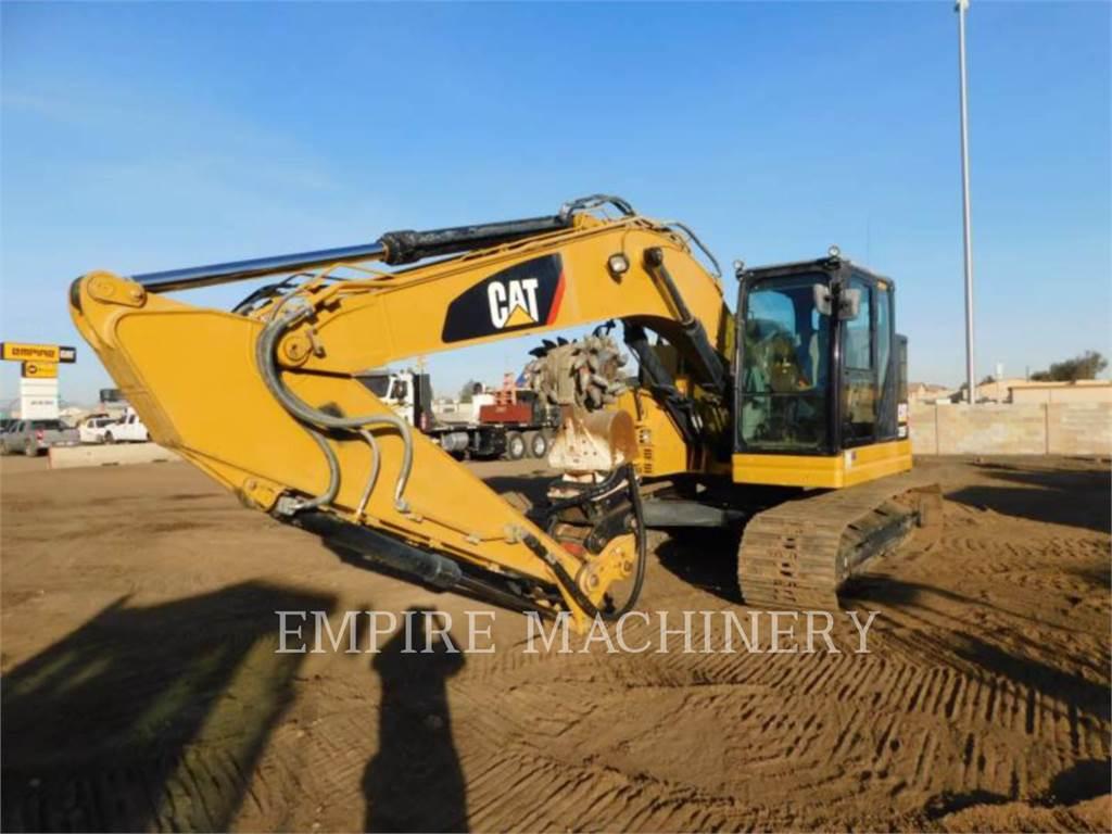 Caterpillar 325F LCR P, Excavatoare pe senile, Constructii