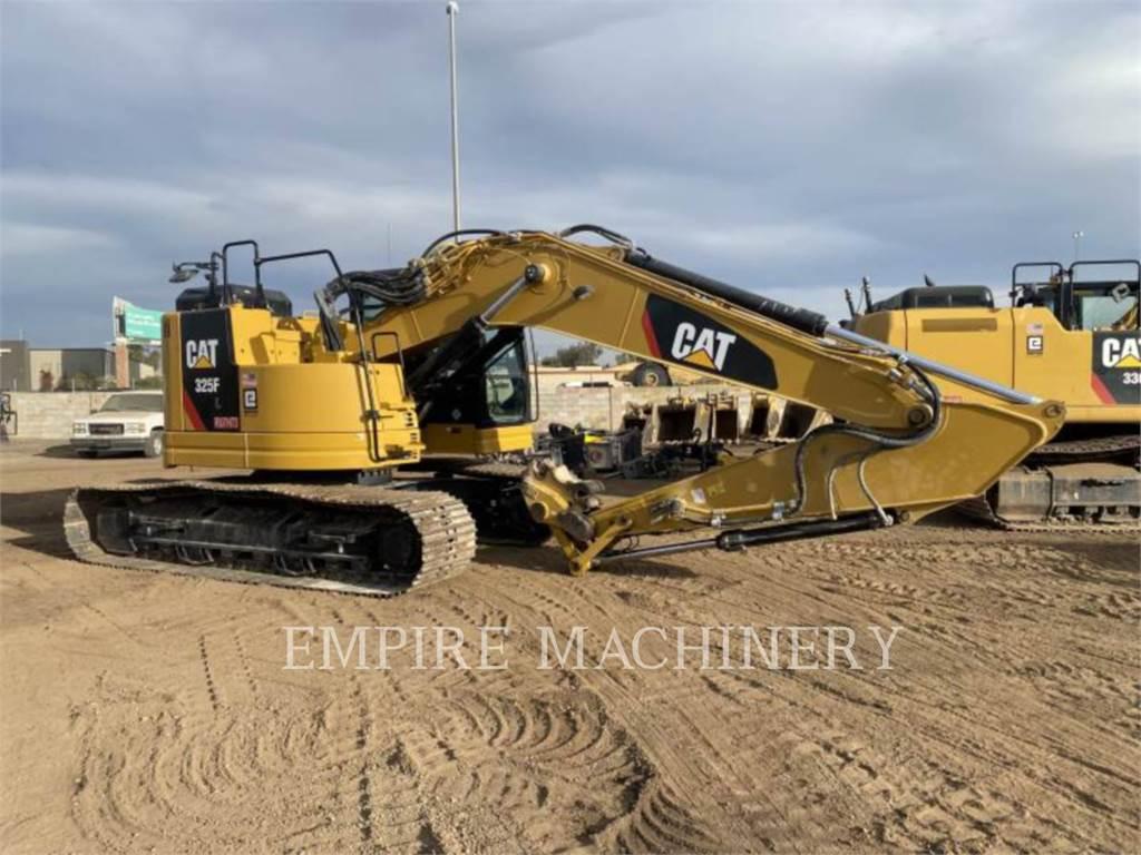 Caterpillar 325F LCR P, Excavadoras de cadenas, Construcción