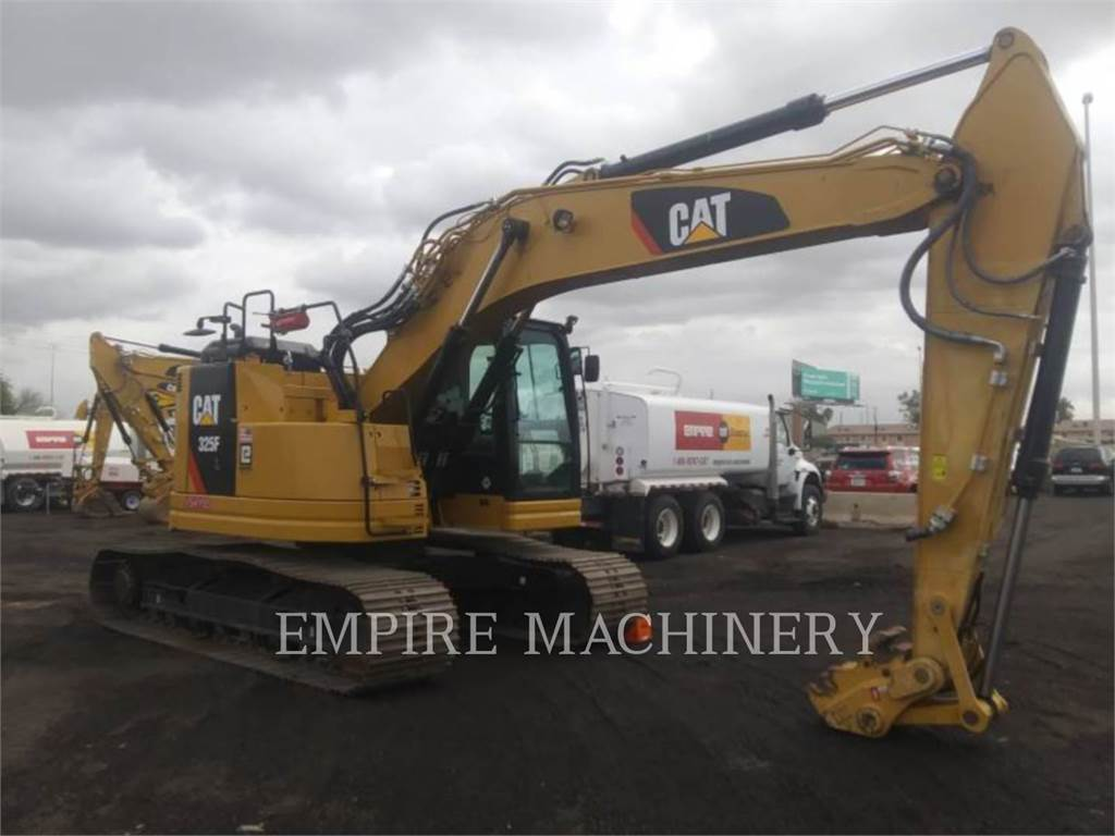 Caterpillar 325F LCR P, Crawler Excavators, Construction