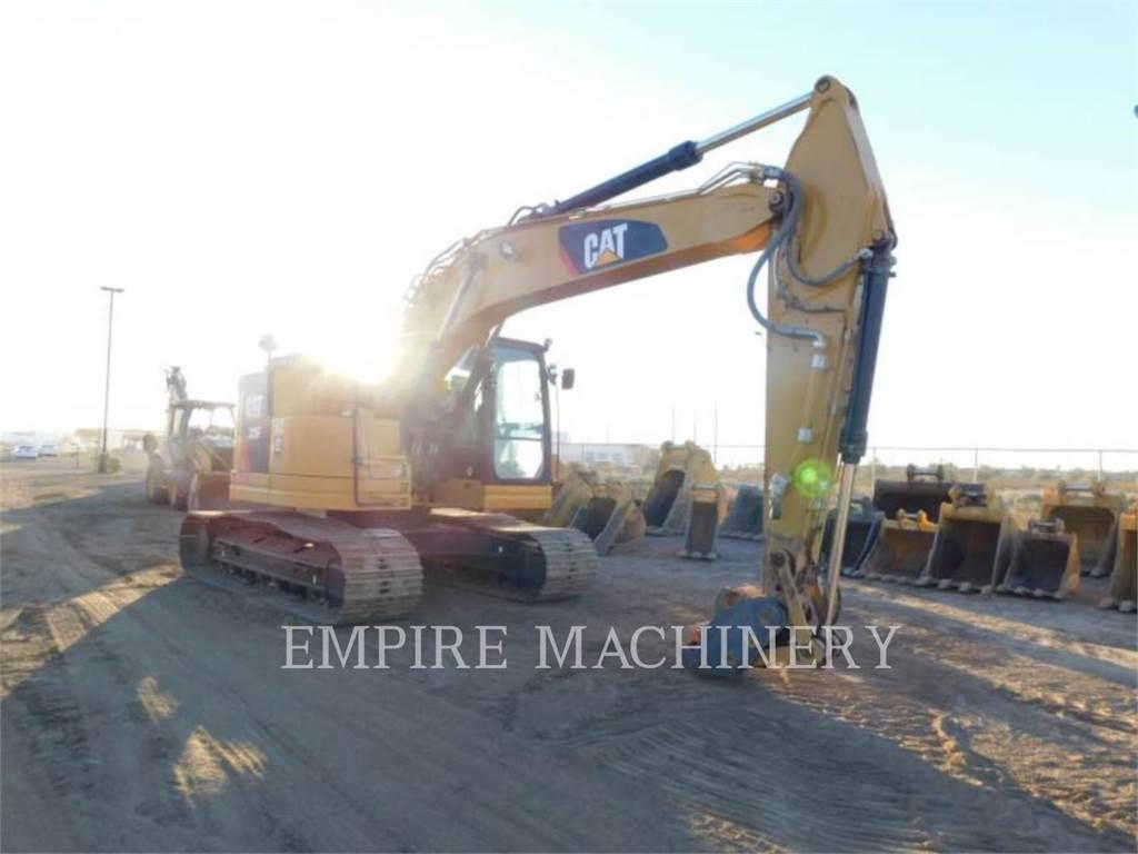 Caterpillar 325FCR、クローラー式油圧ショベル(パワーショベル・ユンボ)、建設