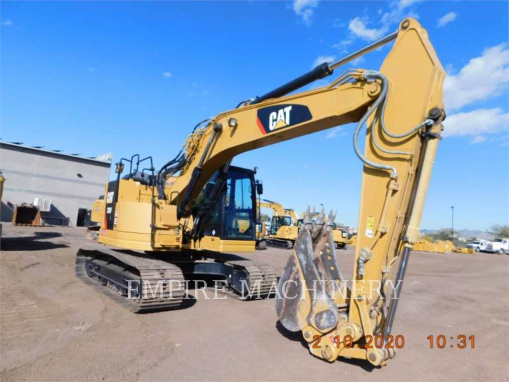 Caterpillar 325FCR, Crawler Excavators, Construction