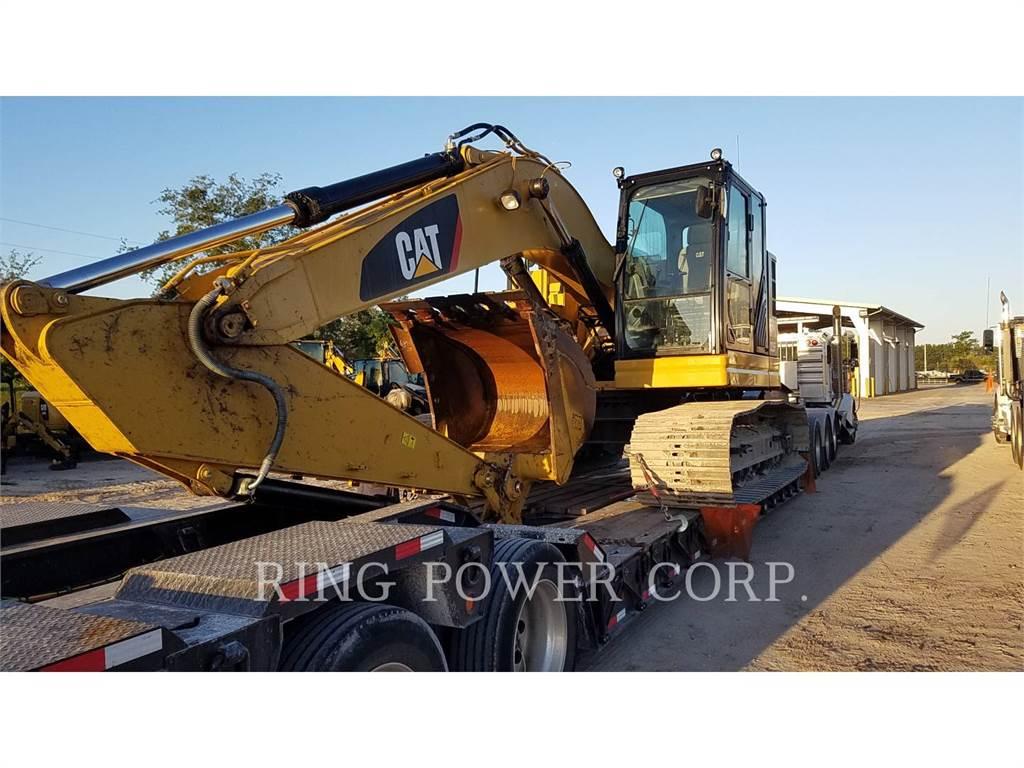 Caterpillar 325FL, Excavatoare pe senile, Constructii