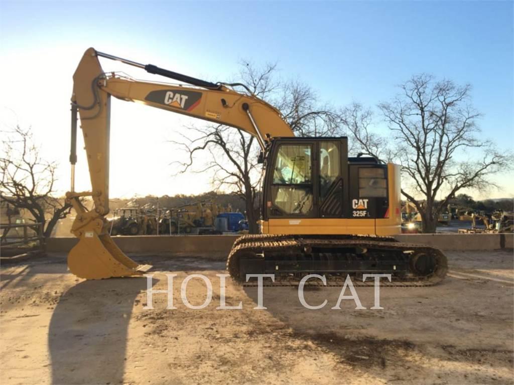 Caterpillar 325FL CR, Crawler Excavators, Construction