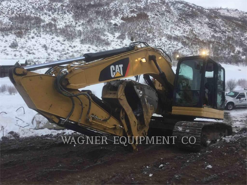 Caterpillar 325FL CRTC, Excavadoras de cadenas, Construcción