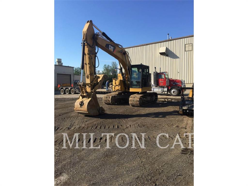 Caterpillar 325FLCR, Crawler Excavators, Construction