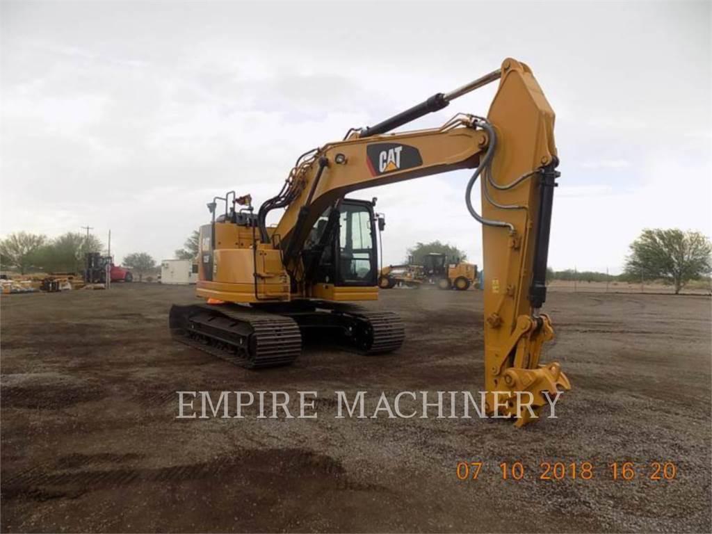 Caterpillar 325FLCR, Excavatoare pe senile, Constructii