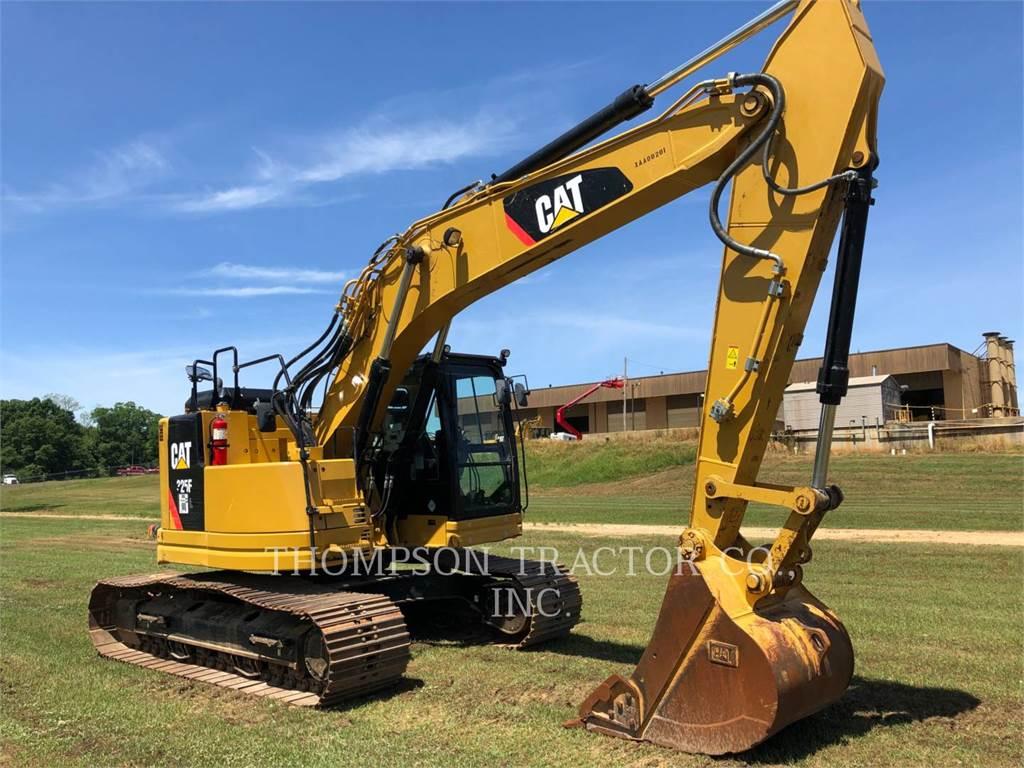 Caterpillar 325FLCR, Excavadoras de cadenas, Construcción