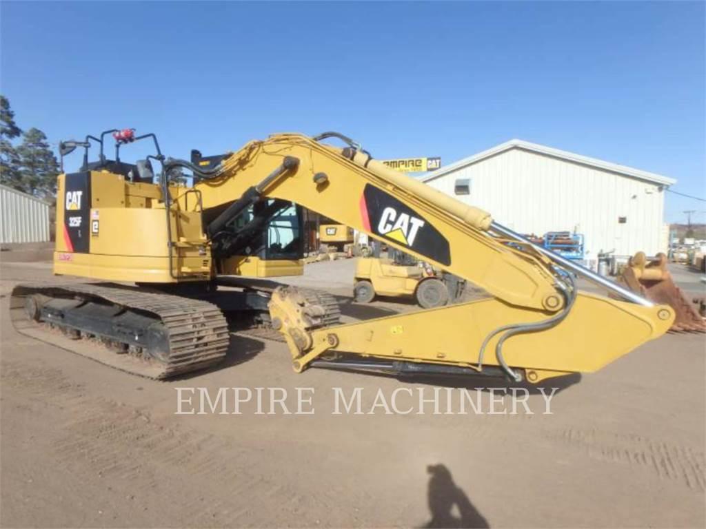 Caterpillar 325FLCR、クローラー式油圧ショベル(パワーショベル・ユンボ)、建設