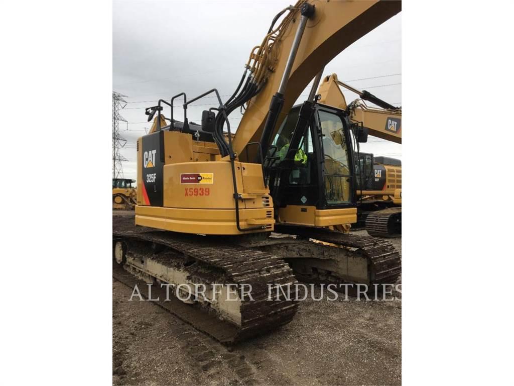 Caterpillar 325FLHMCGC, Excavadoras de cadenas, Construcción