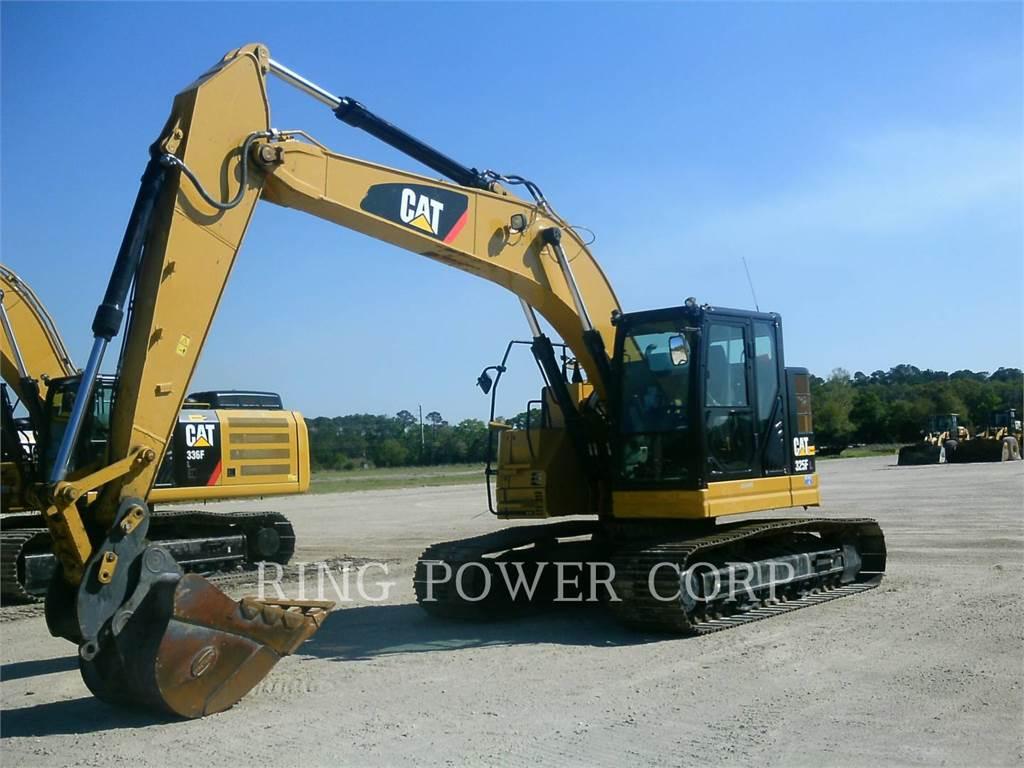 Caterpillar 325FLQC, Excavatoare pe senile, Constructii