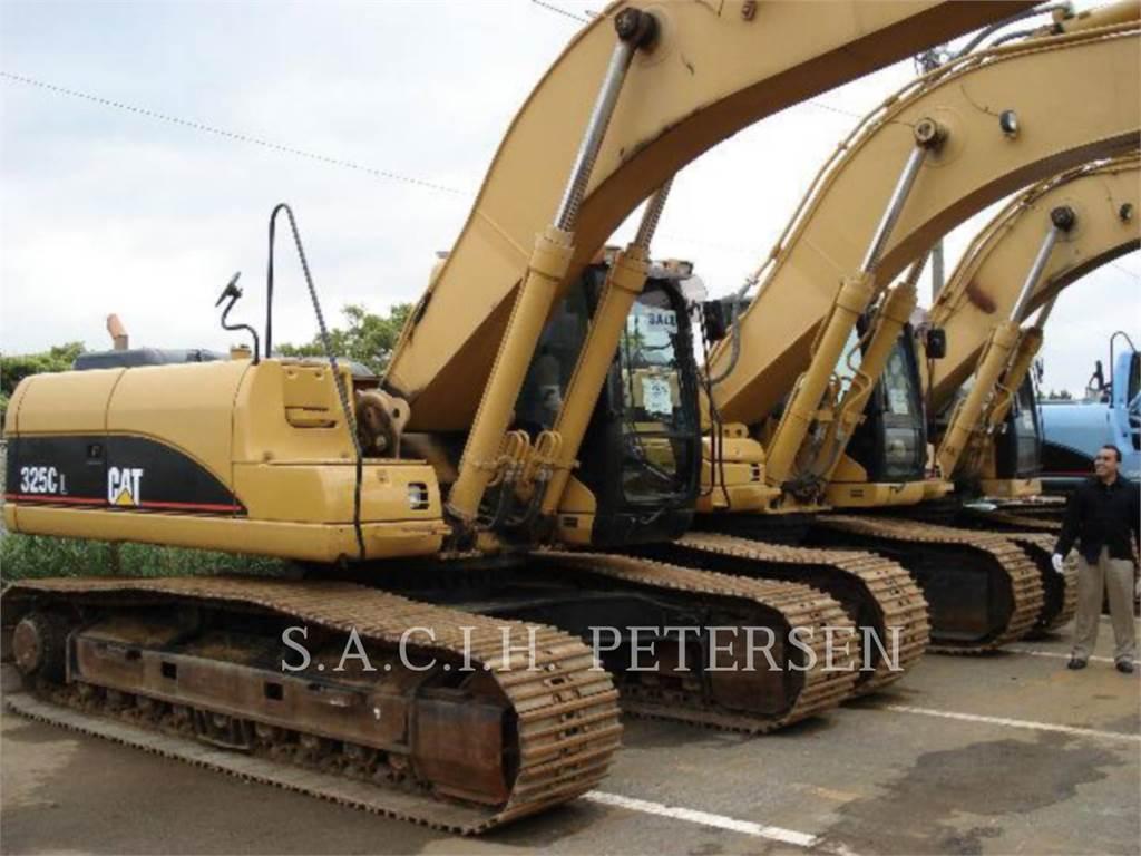 Caterpillar 325L, Koparki gąsienicowe, Sprzęt budowlany