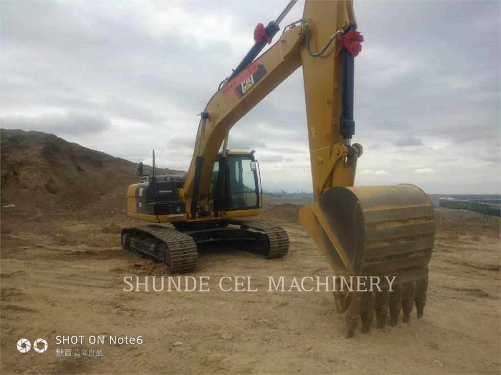 Caterpillar 326D2L、履带挖掘机、建筑设备