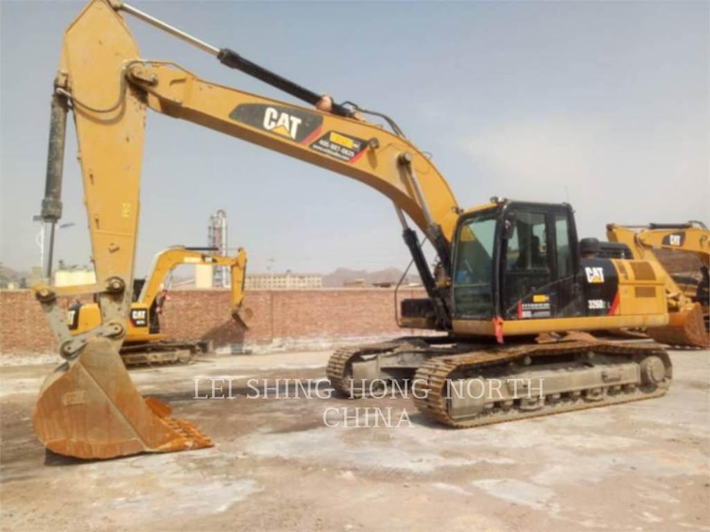 Caterpillar 326D2L, Crawler Excavators, Construction
