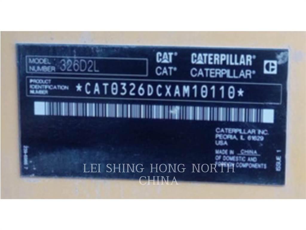 Caterpillar 326D2L, Raupenbagger, Bau-Und Bergbauausrüstung