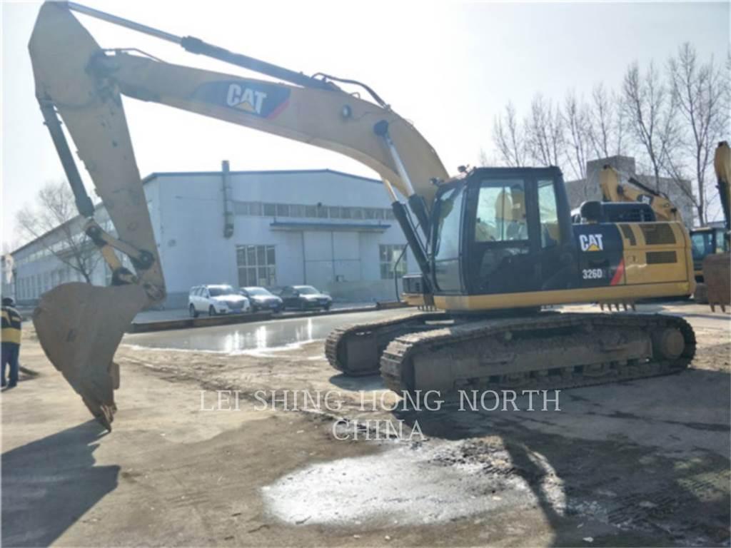 Caterpillar 326D2L, Excavadoras de cadenas, Construcción