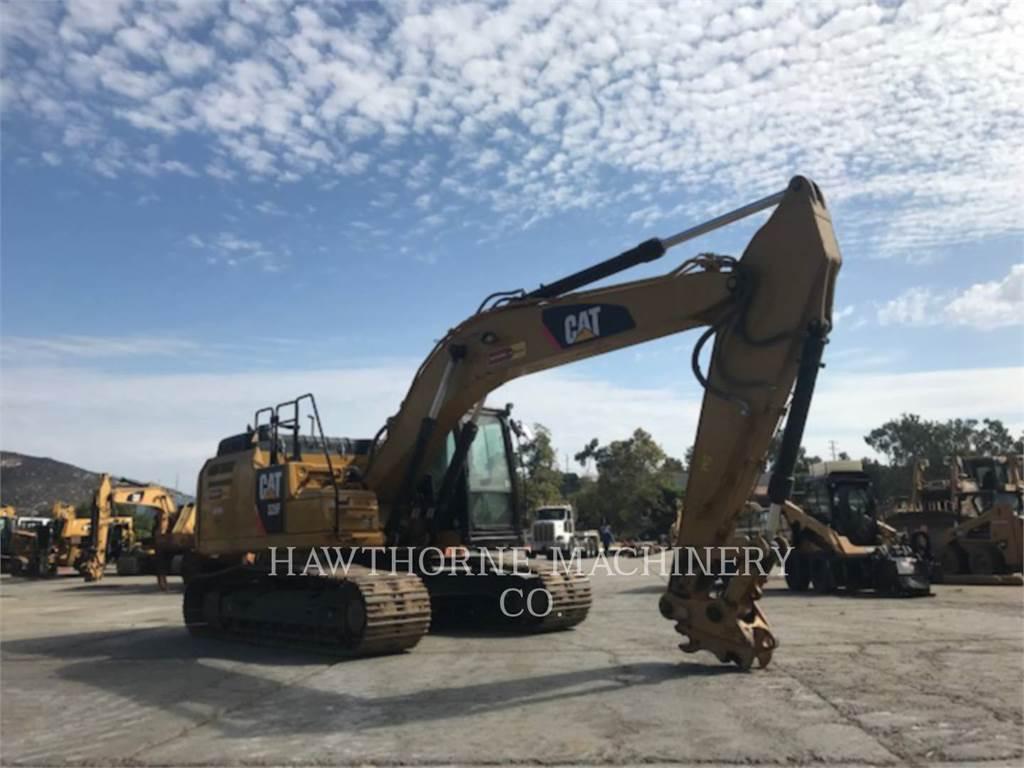 Caterpillar 326F, Excavadoras de cadenas, Construcción