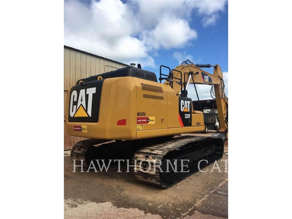 Caterpillar 326F, Escavadoras de rastos, Equipamentos Construção