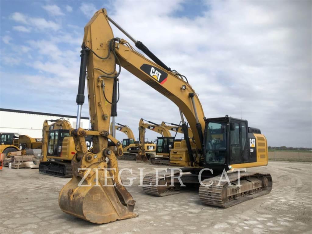 Caterpillar 326F, Crawler Excavators, Construction